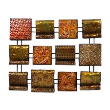 """Array of Autumn Colors"" 12-Panel Wall Décor"