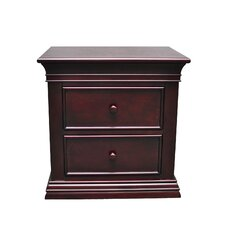 Verona 2 Drawer Nightstand