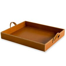 Greer Leather Tray