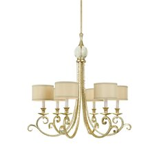 Lucy 6 Light Chandelier