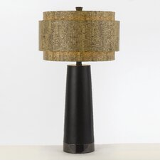 "Candice Olson Aviva 32.5"" H Table Lamp with Drum Shade"