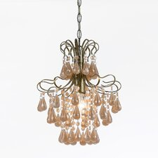 Tiffany 1 Light Mini Chandelier