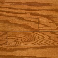 "Intuition with Uniclic 4"" Engineered Red Oak Hardwood Flooring in Honey"