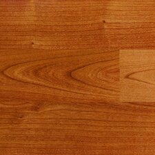 "Traditional Clicette 8"" x 47"" x 7mm Cherry Laminate in Maryland Cherry Burgundy"