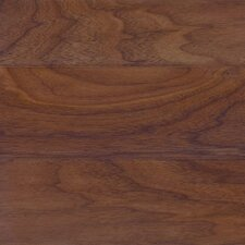 "Intuition with Uniclic 4"" Engineered Walnut Hardwood Flooring in Natural"