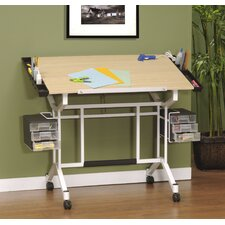 "Pro Station Wood 45""W x 24""D Drafting Table"