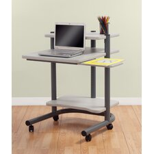 Pewter Laptop Cart