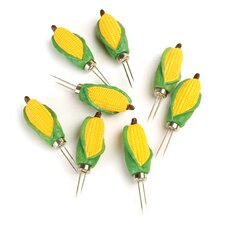 Classic Mini Corn Holder (Set of 8)