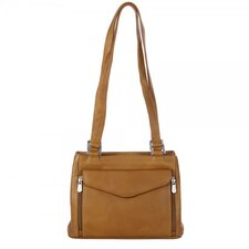 Double Compartment Shoulder Bag