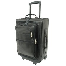"Traveler 19"" Multi-Pocket Wheeler Suitcase"