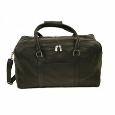 "Traveler 20"" Half-Moon Leather Travel Duffel"