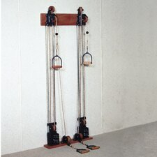 Dual Handle Pulley Upper Body Gym