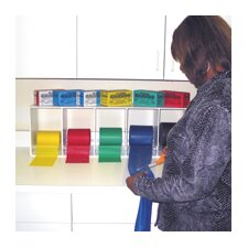 Exercise Band Deluxe Rack