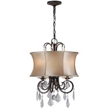 Annelise 3 Light Drum Chandelier