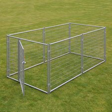 Lucky Dog™ Welded Wire Yard Kennel