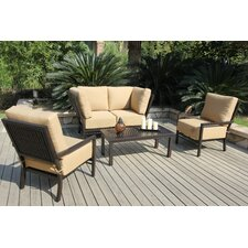 Monterey 5 Piece Deep Seating Group with Cushions