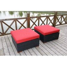 Pasadina Ottomans with Cushions (Set of 2)