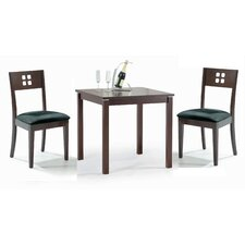 Cafe-211 3 Piece Dining Set