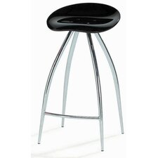 Counterstool 12 Swivel Counter Stool in Black