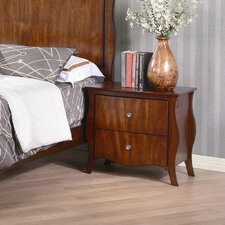 Ontario 2 Drawer Nightstand