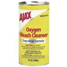 Oxygen Bleach Easy-Rinse Formula Cleanser No Chlorine (Set of 48)