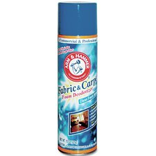 Fabric and Carpet Aerosol Foam Deodorizer - 15 oz (Set of 6)