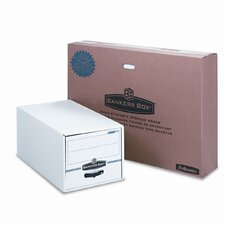 Stor/Drawer File Drawer, Letter, 12-1/2 x 23-1/4 x 10-3/8, White/BE 6 per Carton