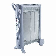 1,500 Watt Portable Electric Radiant Compact Heater
