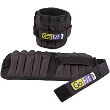 GoFit Padded Ankle Weights (Set of 2)