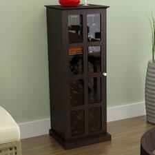 Windowpane Mini Bar with Wine Storage
