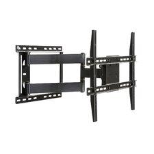"Large Full Motion Articulating Arm/Swivel/Tilt Wall Mount for 19"" - 80"" Flat Panel Screens in Black"