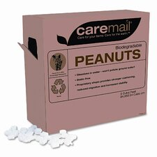 CareMail Biodegradable Peanuts, 3 Cubic Feet