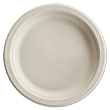 Paper Pro Round Plate (8 Pack of 125)