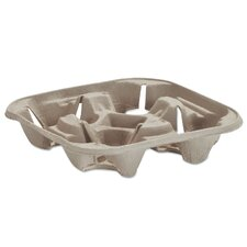 Strong Holder Molded Fiber Cup Tray (Pack of 300)