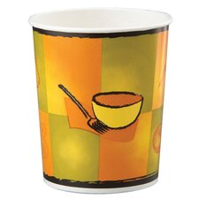 32 Oz Street side Squat Paper Food Container