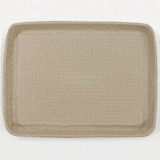 Savaday Molded Fiber Rectangular Food Trays in White