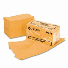 Masslinn Dust Cloths, 24 x 24, Yellow, 50/Bag, 2/carton