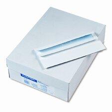 Self-Seal Business Envelopes w/Privacy Tint; #10, White, 500/box
