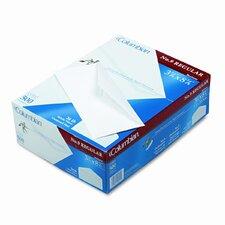 Gummed Flap Business Envelope, V-Flap, #9, White, 500/box