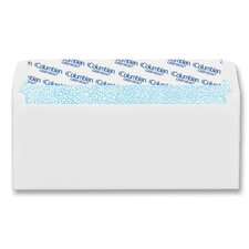 Dubl-Vue Poly-Klear Double Window Envelope, 3 7/8 x 8 7/8, White, 500/Box