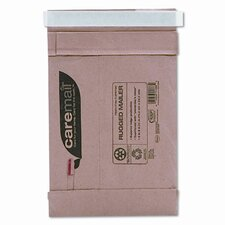 Caremail Rugged Padded Mailer, Side Seam, 6 x 8 3/4, Light Brown, 25/pack