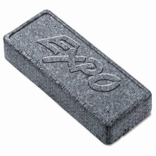 Dry Erase Board Eraser, Soft Pile, 5 1/8w x 1 1/4h (Set of 3)