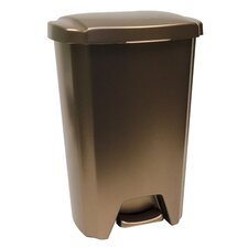 12.5-Gal. Step-On Wastebasket (Set of 4)