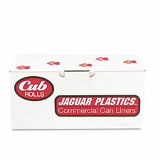 Cub Commercial Low-Density Roll Can Liners, 250/Carton