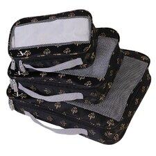 Fleur De Lis Perfect Packing System Garment Bag (Set of 3)