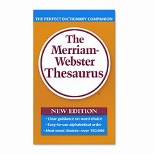 Paperback Thesaurus, 800 Pages