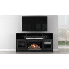 Contemporary TV Stand with Electric Fireplace