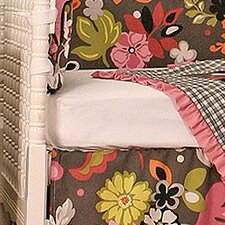 Sleek Slate Crib Sheet