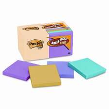 Note Bonus Pack Pads, 3 x 3, Canary Yellow/Ast.,100-Sheet 18/Pack