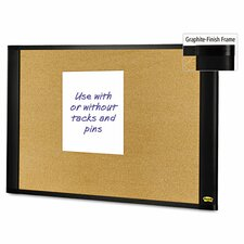 Sticky Cork Wall Mounted Bulletin Board